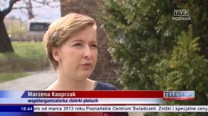 O akcji Pieluszka dla Maluszka w Teleskopie TVP