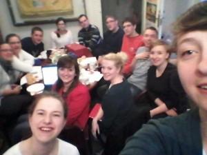#Selfie zDelegatem. Spotkanie Zarządu Diecezjalnego zLiderami ikierownikami sekcji. Fot.A. Superczyńśka