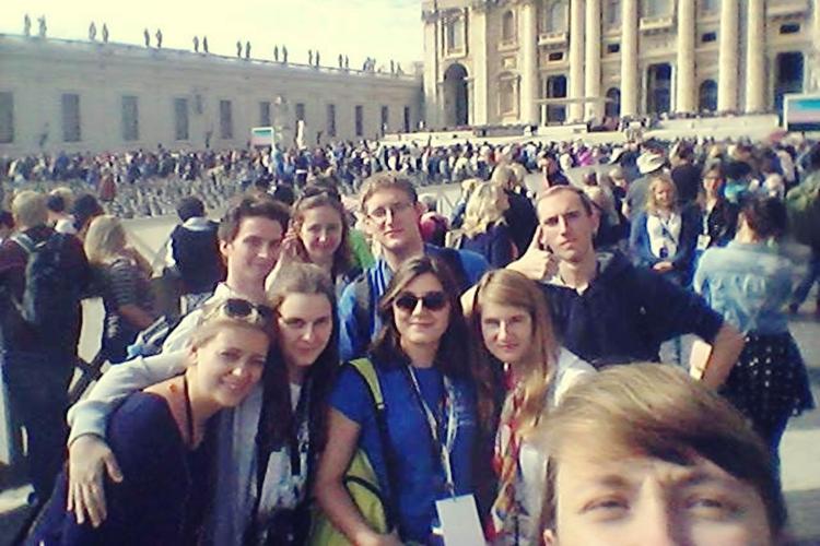 Pielgrzymka KSM do Rzymu